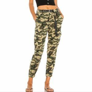 Pam & Gela Cargo Pant With Belt